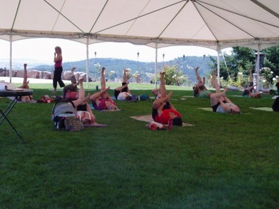 Yoga on The Hill 1