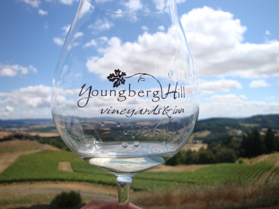 Tasting in Oregon Pinot Noir Country 1