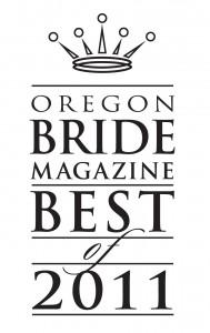 Oregon Bride Magazine Awards 2