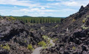 path at newberry national volcanic monument