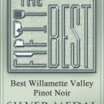 TheFiftyBest.com awards Silver for Youngberg Hill 2011 Oregon Pinot Noir. TheFiftyBest.com is an award-winning online guide to fine living, featuring rated listings from unbiased surveys and tastings. This is the first time shined its spotlight on Oregon's Willamette Valley Pinot Noir 1