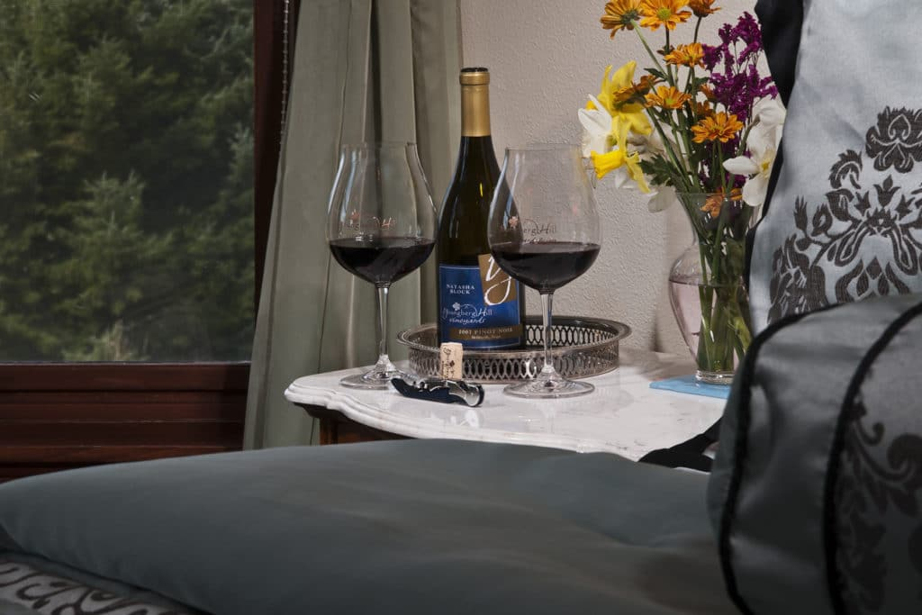 The guest rooms of our Willamette Valley Bed and Breakfast have all the amenities and ambience you'll need for a great romantic getaway.