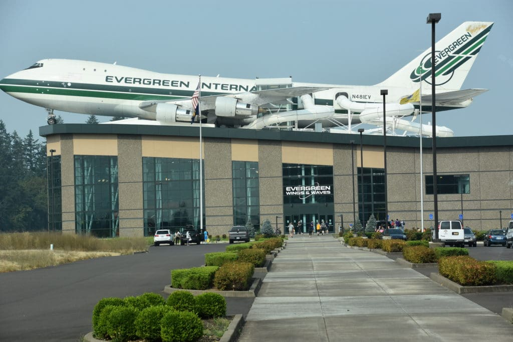 The Evergreen Air & Space Museum is a must-see when you're in McMinnville, Oregon.